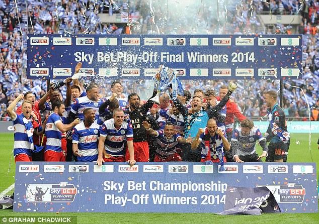 QPR team celebrates